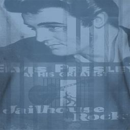 Elvis Presley Jailhouse Poster Sublimation Shirts