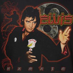 Elvis Presley Karate Shirts