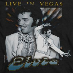 Elvis Presley Live In Vegas Shirts