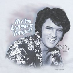 Elvis Presley Lonesome Tonight Shirts