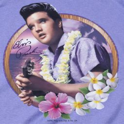 Elvis Presley Luau King Shirts