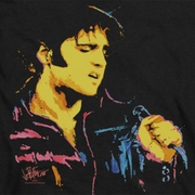 Elvis Presley Neon Outline Shirts
