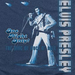 Elvis Presley One Night Only Shirts