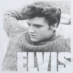 Elvis Presley Relaxing Sweater Shirts