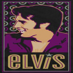 Elvis Presley Retro Painting Shirts