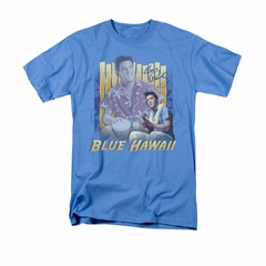 Elvis Presley Shirt Blue Hawaii Carolina Blue T-Shirt