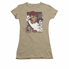 Elvis Presley Shirt Juniors Hang Loose Green T-Shirt