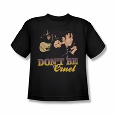 Elvis Presley Shirt Kids Don't Be Cruel Black T-Shirt