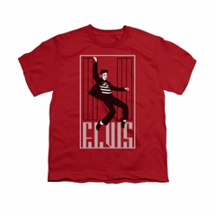 Elvis Presley Shirt Kids One Jailhouse Red T-Shirt