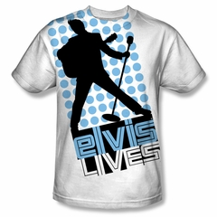 Elvis Presley Shirt Livin Large Sublimation Shirt
