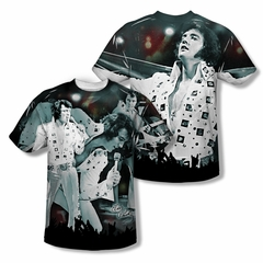 Elvis Presley Shirt Now Playing Sublimation Shirt Front/Back Print