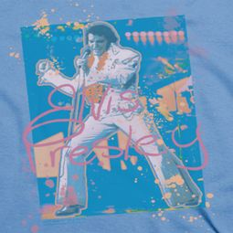 Elvis Presley Splatter Hawaii Shirts