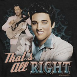 Elvis Presley That's All Right Shirts
