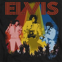 Elvis Presley Vegas Remembered Shirts