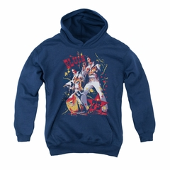 Elvis Presley Youth Hoodie Eagle Navy Kids Hoody