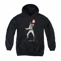 Elvis Presley Youth Hoodie Glorious Black Kids Hoody