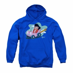 Elvis Presley Youth Hoodie Speedway Royal Blue Kids Hoody