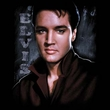 Elvis Shirt - Classic Rock King Tough Classic Rock Star - Black