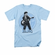 Elvis T-shirt - 45 RPM Classic - Light Blue
