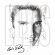 Elvis T-shirt - Classic Rock King Blue Eyes Classic 50s Style - White