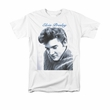 Elvis T-shirt - Classic Rock King Script Sweater Classic Rock - White