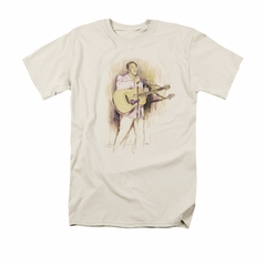 Elvis T-shirt - I Was The One Classic - Cream Color
