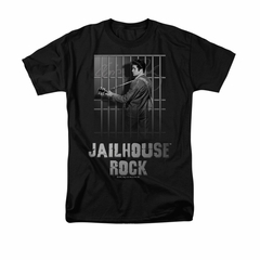 Elvis T-shirt - Jailhouse Rock Classic - Black