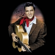 Elvis T-shirt - Red Scarf #2 - Black