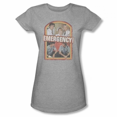 Emergency Shirt Juniors Cast Athletic Heather T-Shirt