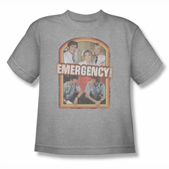 Emergency Shirt Kids Cast Athletic Heather T-Shirt