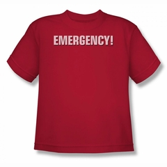 Emergency Shirt Kids Logo Red T-Shirt