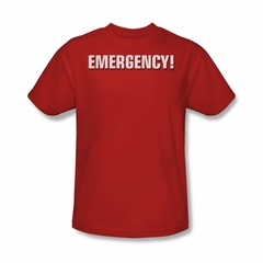 Emergency Shirt Logo Red T-Shirt