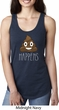 Emoji Shit Happens Ladies Ideal Tank Top