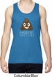 Emoji Tank Top Shit Happens Mens Moisture Wicking Tanktop