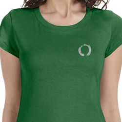Enso Pocket Print Ladies Yoga Shirts