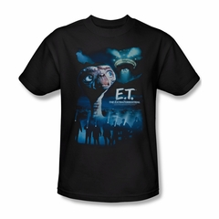 ET Shirts - Extra Terrestrial Shirt Going Home Adult Black Tee T-Shirt