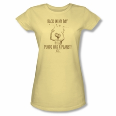 ET Shirts - Extra Terrestrial Shirt Juniors In My Day Banana Tee T-Shirt
