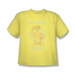 ET Shirts - Extra Terrestrial Shirt Kids Phone Banana Youth Tee T-Shirt