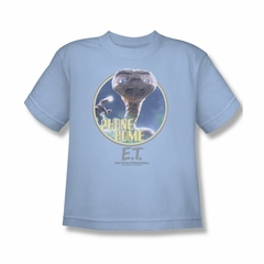 ET Shirts - Extra Terrestrial Shirt Kids Phone Home Light Blue Youth Tee T-Shirt