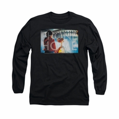 ET Shirts - Extra Terrestrial Shirt Knockout Long Sleeve Black Tee T-Shirt