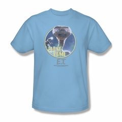 ET Shirts - Extra Terrestrial Shirt Phone Home Adult Light Blue Tee T-Shirt