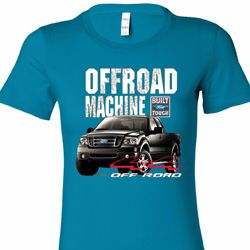 F-150 4X4 Off Road Machine Ladies Ford Shirts