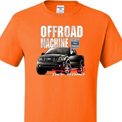 F-150 4X4 Off Road Machine Mens Ford Shirts