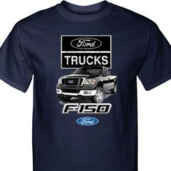 F-150 Trucks Mens Ford Shirts