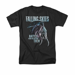 Falling Skies Shirt Battle Them Black T-Shirt