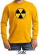 Fallout Shirt Radioactive Radiation Symbol Youth Long Sleeve Shirt