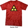 Fallout Shirt Radioactive Triangle Spider Tie Dye Tee T-shirt