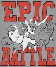 Family Guy Epic Battle Shirts