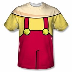 Family Guy Shirt Stewie Costume Sublimation Shirt