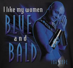 FarScape Blue And Bald Shirts